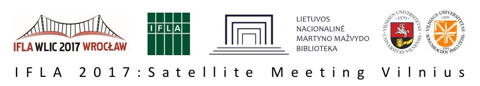 IFLA 2017: Satellite Meeting Vilnius